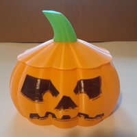 Small Jack O Lantern Candy Bowl or Lamp 3D Printing 262148