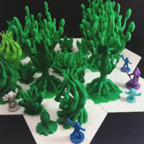 Alien Jungle 3D Print 26239