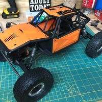 Small Axial Capra - Body Panels 3D Printing 262402