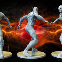 Small Flash - Justice League 3d print files 3D Printing 262560