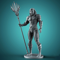 Small Aquaman - Justice League 3d print files 3D Printing 262585