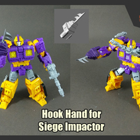 Small Hook Hand for Siege Impactor 3D Printing 262728