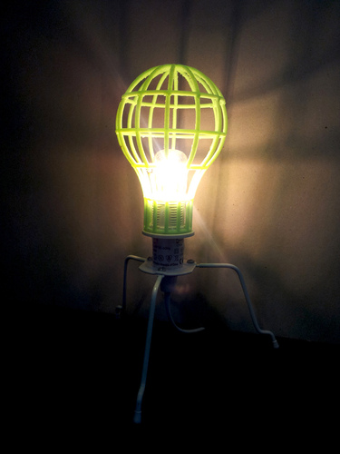 Lightbulb Mesh Lampshade 3D Print 26278