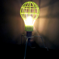 Small Lightbulb Mesh Lampshade 3D Printing 26278