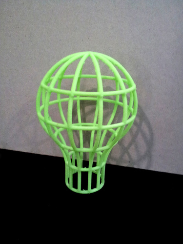 Lightbulb Mesh Lampshade 3D Print 26280