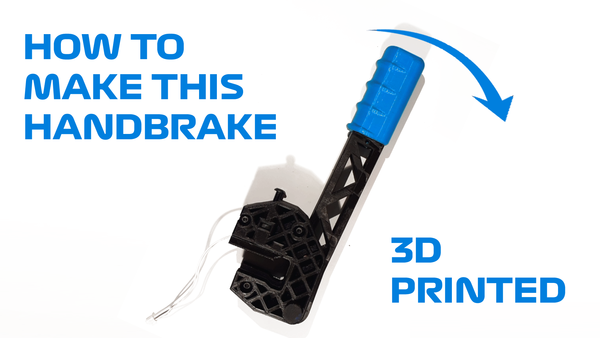 Medium 3D-printed Handbrake 3D Printing 262872