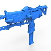 Small Gun of Sombra from the game Overwatch 3D Printing 262873