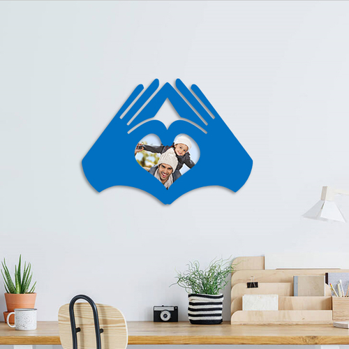 love hands photo frame  3D Print 262981