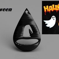 Small Halloween earrings: 'hat' 3D Printing 263044