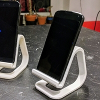 Small Universal Phone Stand 3D Printing 263075