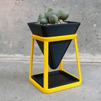 Small Fancy Flower Pot 3D Printing 263094