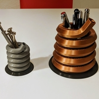 Small Pen or Tool Stand / Spring Design 3D Printing 263097