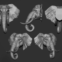 Small Elephant 3D Printing 263154