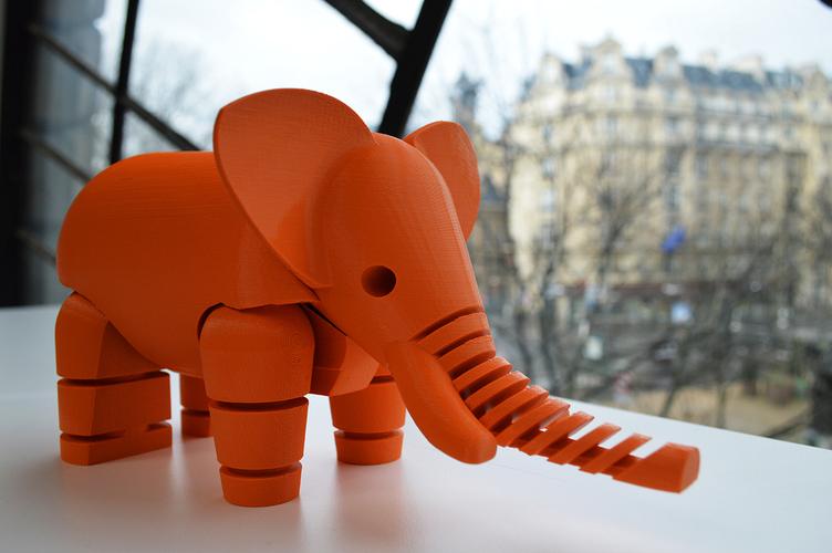 Resultado de imagen para elephant 3d