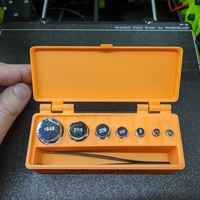 Small Box (Container) for Calibration Weights 3D Printing 263465