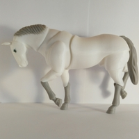 Small Horse BJD 3D Printing 263567