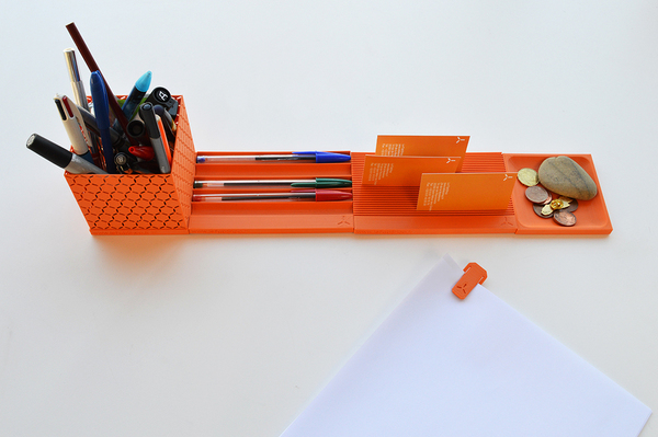 Medium Desktop Organizer 3D Printing 2637