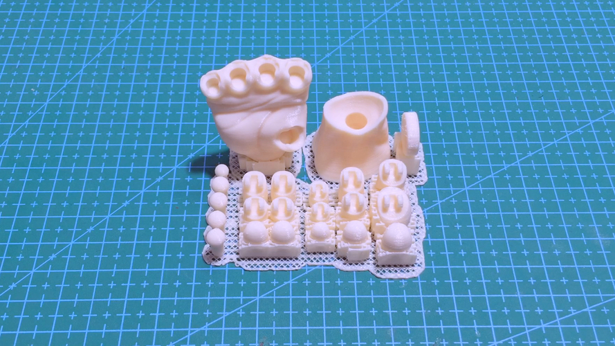 Articulated Poseable Hand 3D Print 263840