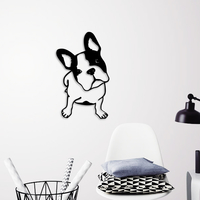 Small FRENCH BULLDOG WALL ART 3D Printing 264012