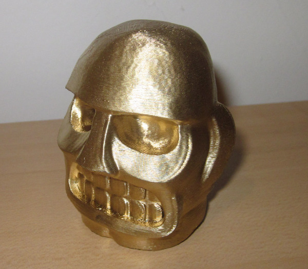 Medium Spelunky Golden Idol 3D Printing 2641