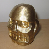 Small Spelunky Golden Idol 3D Printing 2641