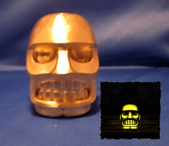 Spelunky Golden Idol 3D Print 2643