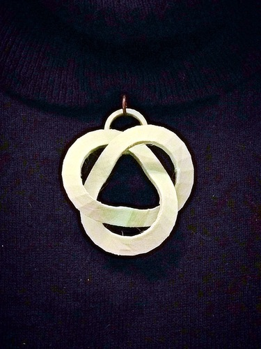 Abstract Knot Pendant 3D Print 26452