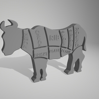 Small Beef cuts 3D Printing 264559