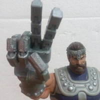 Small MOTUC FISTO POSEABLE HAND 3D Printing 264643