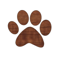 Small Pumpkin Paw Print/Halloween Decorations/Paw Design/ Animal Lover 3D Printing 265002
