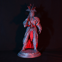 Small King Leoric - The Skeleton King 3D Printing 265179