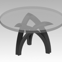 Small Table base 3D Printing 265223