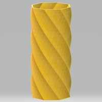 Small 8 Sided Simple Vase 3D Printing 265324