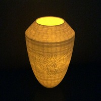 Small Celtic Vase 3D Printing 26540