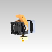 Small QUBD extruder mod 3D Printing 26554