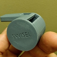 Small The Swisel - Slotted Slide Whistle 3D Printing 265576