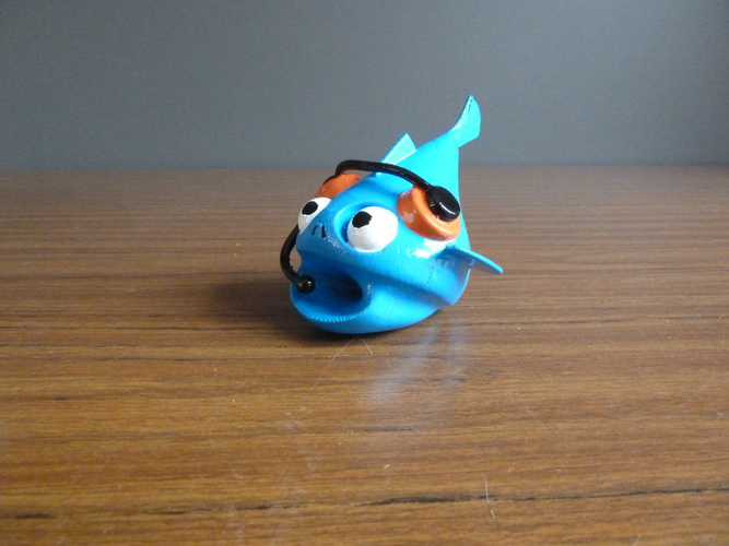School of Fishies By LeHof 3D Print 2656