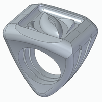 Small Eye ring 3D Printing 265814