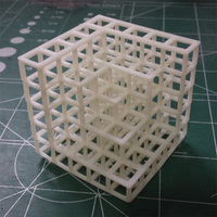 Small Cubic Pile 5X5 3D Printing 26594