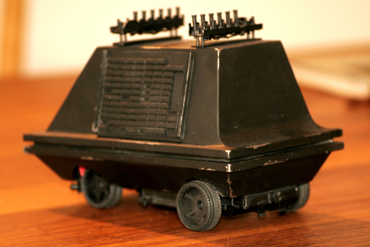 STAR WARS MSE-6 mouse droid body for 1:24  RC Car chassis 	 3D Print 26649