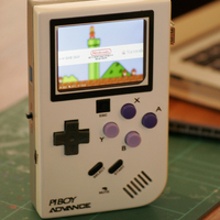 Small PiBoy Advance 3D Printing 26654