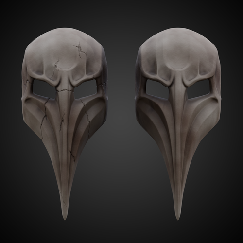 Plague Doctor Mask  3D Print 266660