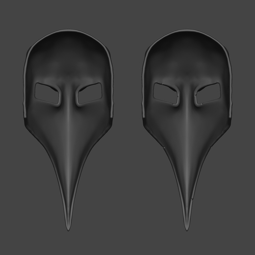 Plague Doctor Mask  3D Print 266662