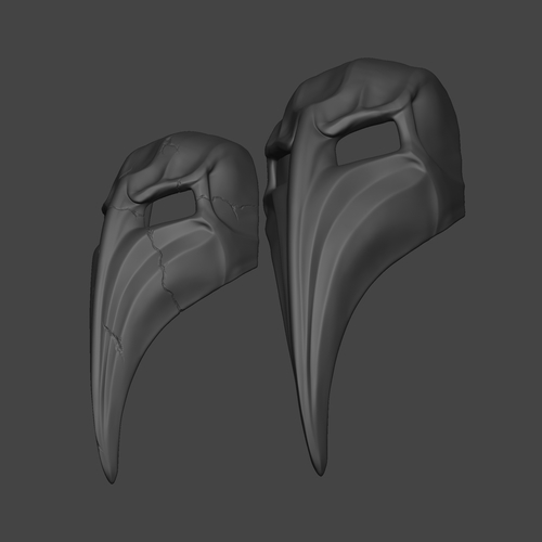Plague Doctor Mask  3D Print 266665