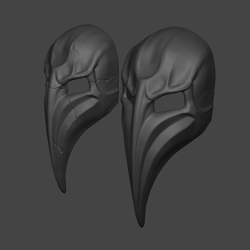 Plague Doctor Mask  3D Print 266666
