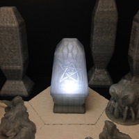 Small Elder Sign Nightlight 3D Printing 26671