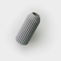 Small Striped Vase 3D Printing 26697