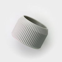 Small Striped Pot 3D Printing 26703