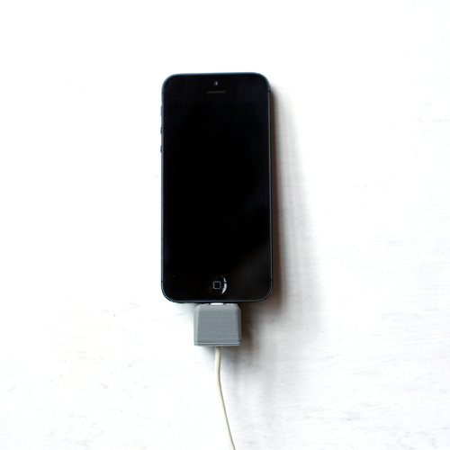 iPhone Wall Dock 3D Print 26723