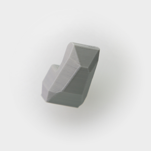 Faceted Wall Hook 3D Print 26724